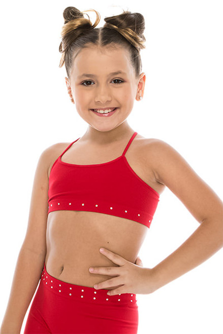 IDEA Kids' Rhinestone Bra | One Size