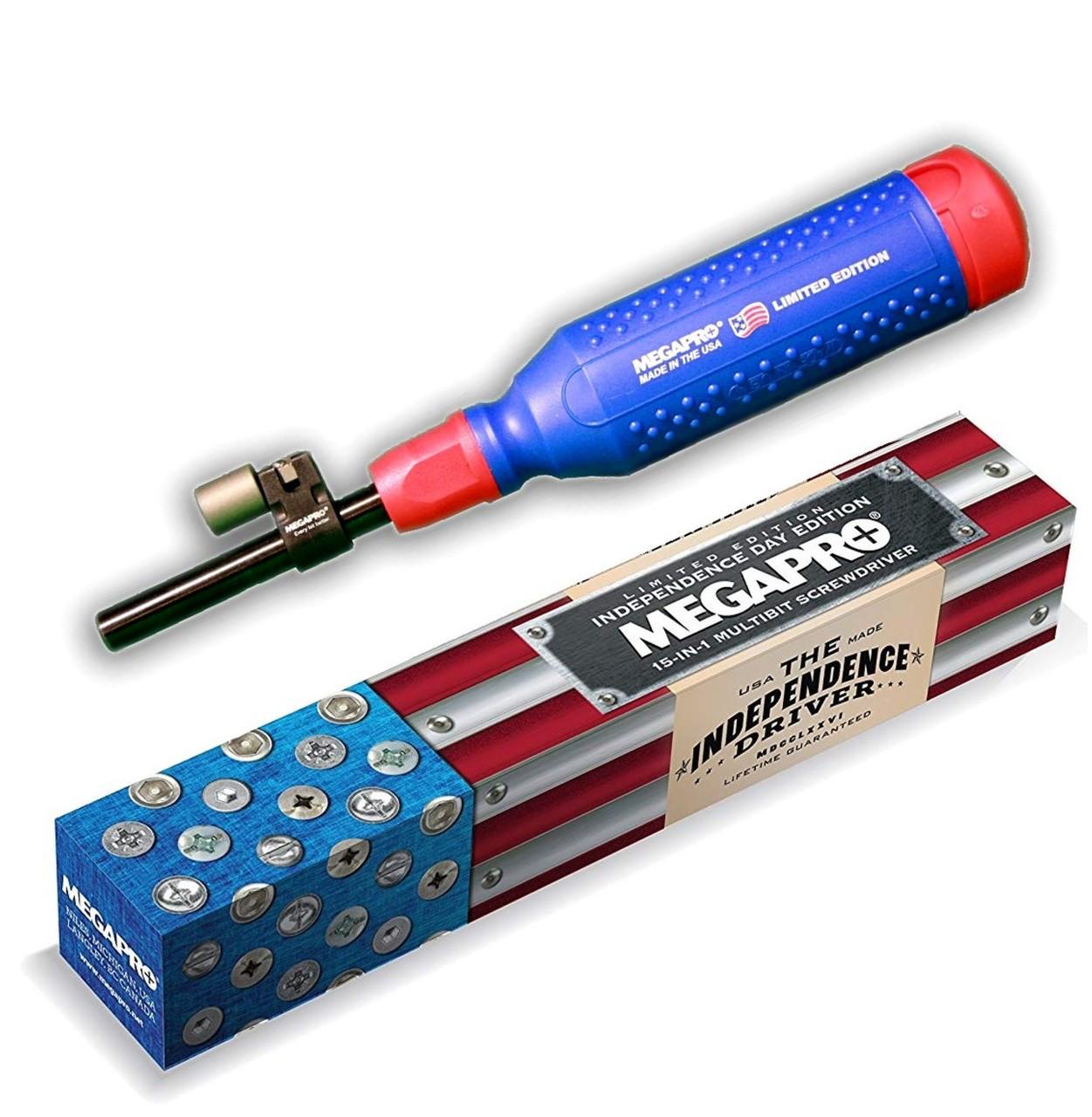 Megapro Original 15 in 1 Multi Bit Screwdriver Phillips Torx LIMITED EDITION USA