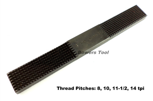 Jawco Nu-Thred #5 Rethreading Wide Pipe Thread File 8-14tpi. USA