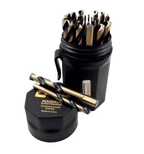 Norseman 29 pc Mechanics Length HI-Molybdenum M7 Drill Bit Set 1/16-1/2 SPM-29P