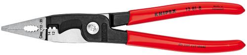 "Knipex 8"" Electrical Installation Pliers Long Nose Cutter Cripper Stripper 13818"