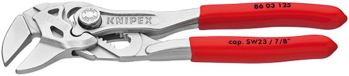 """Knipex Mini 5"""" Plier Wrench 3/32"""" Thin Jaw Width 7/8"""" Capacity Pliers 8603125"""