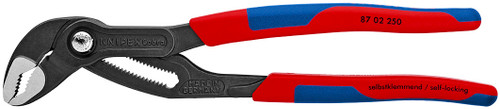 "Knipex 10"" Cobra & Adjustable Pliers Wrench Set w Comfort Grip Handles"