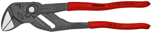 "Knipex 10"" Pliers Wrench 8601250 Adjustable Wrench Hybrid Tool Black Finish"