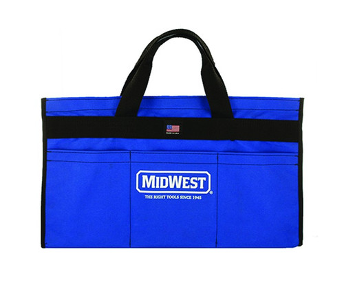 """Midwest Custom Tool Bag 12 Pouch 18"""" x 6"""" Made in USA"""