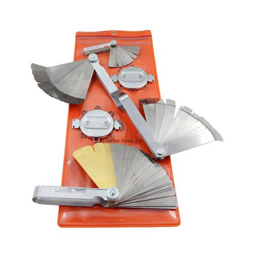 Lang 5pc Master Feeler Gauge Set for Ignition Spark Plugs Valve Tappets etc. USA