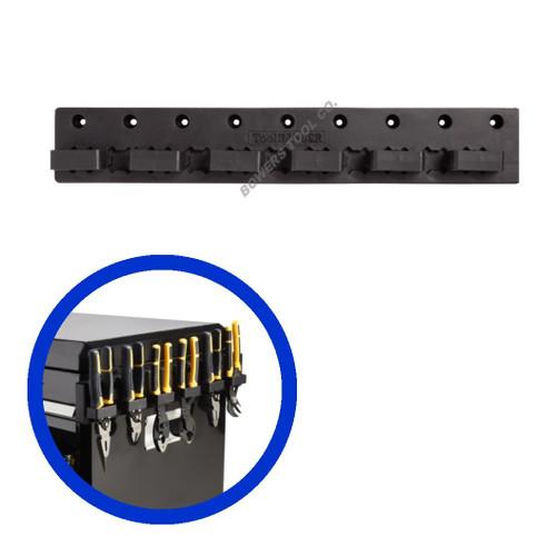 Hansen Magnetic Pliers Organizer Holder Rail 6 Slot Made in USA ToolHanger