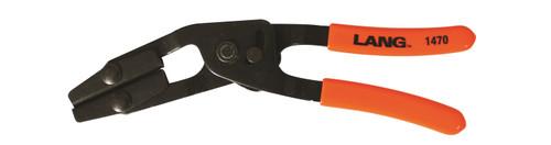 """Lang 10"""" Hose Pinch Pliers Offset Self Locking Medium Size Made in USA 1470"""