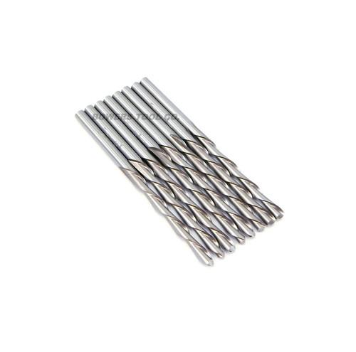"Norseman 1/8"" Drywall Cutout Bit For Dremel Rotary Tool 8pc Hi-Moly USA Made 3mm"
