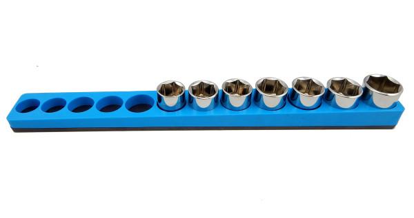 Mechanics Time Saver 3//8 Drive Magnetic Socket Holder Metric Organizer MTS USA