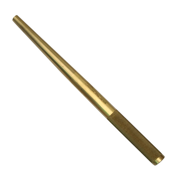 """Wilde 1/2"""" x 12"""" Brass Solid Tapered Punch Made in USA BT1632"""