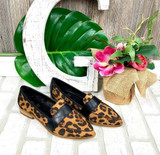 AB Leopard Print Loafers