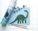 Pink Picasso Paint by Number Kids Dinosaur PPK-KIDSDINO
