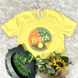Believe in Breck Bella Softstyle Heather Yellow T-shirt