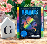 Mermaid Scratch and Draw Book