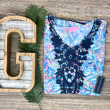 Simply Southern Beach Cover Up Abstract Pattern