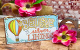 AFD Metal Sign Silver Linings