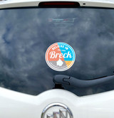 Believe in Breck Car or Cup Decals