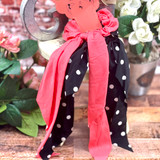 Simply Southern Scarf Srunchies Polka dots