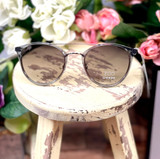 Floats Ego Lux Round Crystal w/Silver Sunglasses 7120