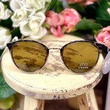 Floats Ego Lux Round Tortoise w/Gold Sunglasses 7120