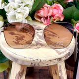 Floats Ego Lux Frameless Brown Sunglasses 7122