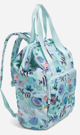 Vera Bradley Paisley Wave Fish ReActive Cooler Backpack