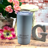 Ganz Coffee Kisses Tumbler