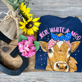 Simply Southern Moo Navy