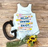 Simply Southern Relax Tank Top