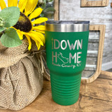 Raised Up Down Home 30oz Tumbler Meade County Green