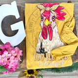 Simply Southern Chicken Mustard LS