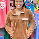 Simply Southern  SuperSoft Pullover Camel