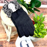 Simply Noelle Snowy Night Gloves OS