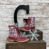 Simply Southern Boots Lace Blooms