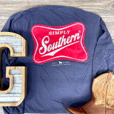 Simply Southern Logo Red Navy