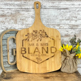 Engravable Bamboo Pizza Board