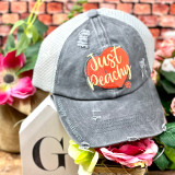 Simply Southern Just Peachy Ponytail Hat