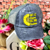 Simply Southern Don't Let Anyone Dull Your Sunshine  Ponytail Hat