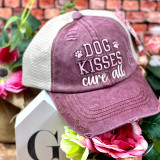 Simply Southern Dog Kisses Cure All  Ponytail Hat