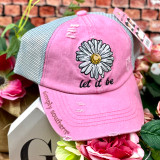 Simply Southern Let it Be Ponytail Hat