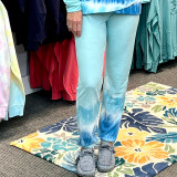 Simply Southern Joggers Stripe Blue