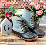 Simply Southern Boots Lace Heather Gray