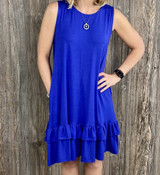 AC Royal Alex Ruffle Dress