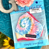 Simply Southern mask adult Tiedye