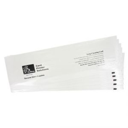 ZEBRA 105999-311 CLEANING CARD KIT, ZC100/300, 5000 PRINTED CARDS