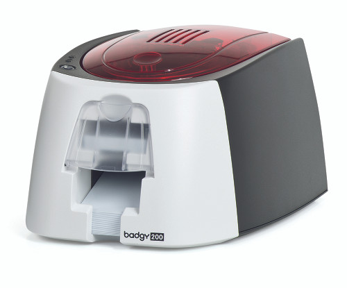 Evolis B22U0000RS Badgy200 plastic card color ribbon printer
