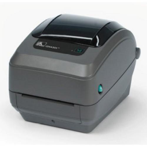 Zebra GX43-102411-000 GX430T, TT Printer 300dpi, US Cord, EPL2, ZPL II, USB, Serial, Ethernet, Dispenser (Peeler)