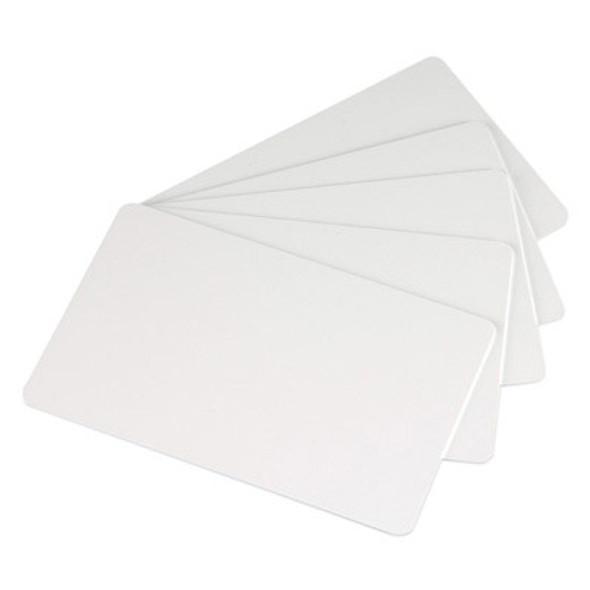 Zebra 104523-111  Zebra white PVC cards, 30 mil (500 cards)