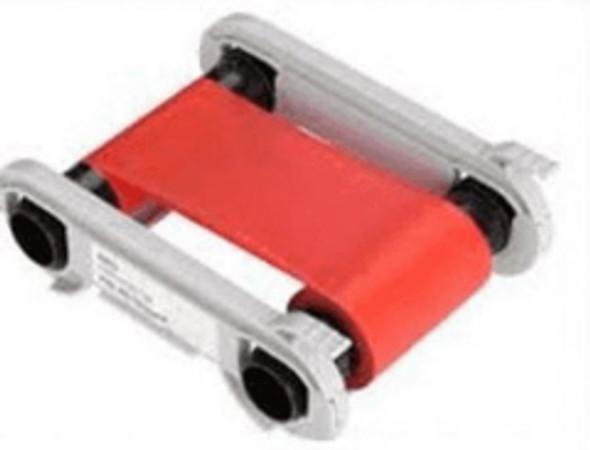 Evolis RCT013NAA RED Monochrome Ribbon - 1000 prints / roll
